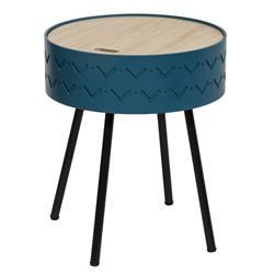 Stolik kawowy Shiro niebieski