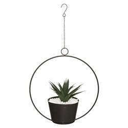 Wisząca sztuczna roślina w doniczce