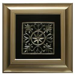 Obraz przestrzenny Noble Gold A 65x65 cm