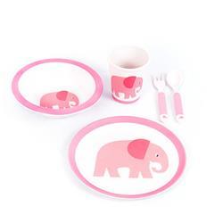 Zestaw naczyń dla dzieci motyw słonik