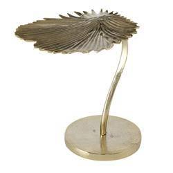 Stolik kawowy Levja 48x45 cm liść