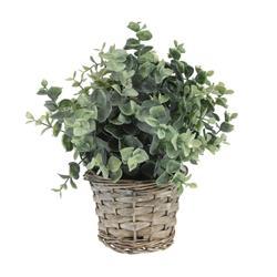 Sztuczna roślina doniczkowa 28 cm wzór 4