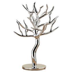Stojak na biżuterię srebrne drzewko