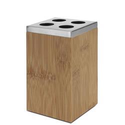 Pojemnik na szczoteczki bambusowy