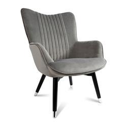Fotel Glam Aluminium