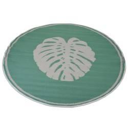Mata podłogowa liść 150 cm zielona
