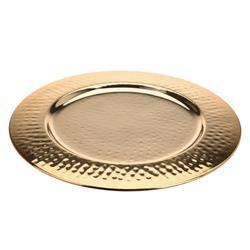 Dekoracyjna patera złota 32 cm
