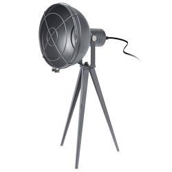 Lampa stojąca Loft szara 52 cm