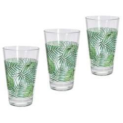 Komplet szklanek 3 sztuki 300 ml wzór 1