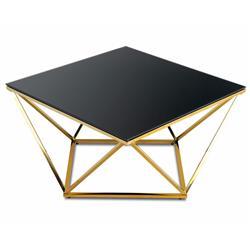 Stolik kawowy Diamanta Gold Black