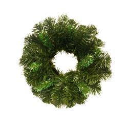 Wianek bożonarodzeniowy zielony 30 cm