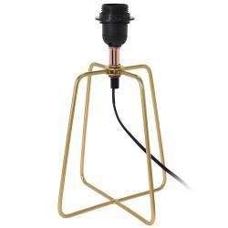 Lampa stojąca metalowa złota (ref: XX8112240)