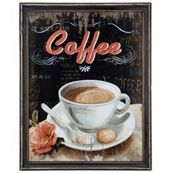 Obraz ścienny Coffee 65x51 cm retro