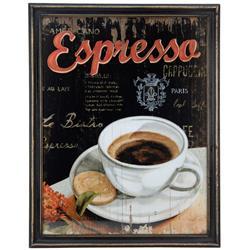 Obraz ścienny Espresso 65x51 cm retro