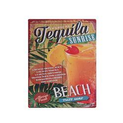 Obrazek ozdoba ścienna Tequila 30x40 cm