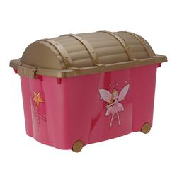 Duży kufer na zabawki - Księżniczka