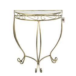 Zdobiona konsola stolik Ava wzór Esy