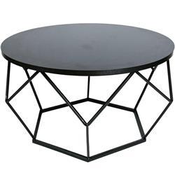 Stolik kawowy Diamond 70 cm czarny