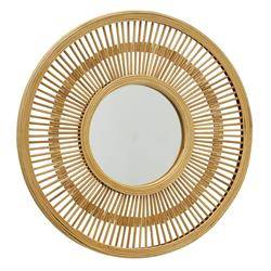 Bambusowe lustro ścienne Girona 51 cm