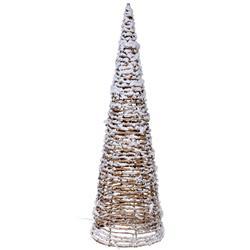 Ozdoba świąteczna choinka 15 led 60 cm