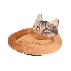 Poduszka, legowisko dla kota - brąz