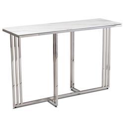 Konsola Amagat Silver White 120 cm