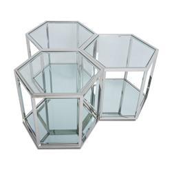 Stolik kawowy Cube Silver