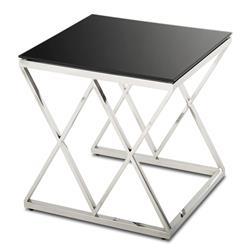 Komplet 3 stolików Timantti Silver Black