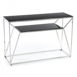 Konsola Farasin Silver Black 120 cm