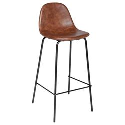 Krzesło barowe Vladi Brown
