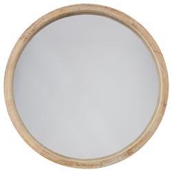 Drewniane lustro ścienne Natalie 50 cm
