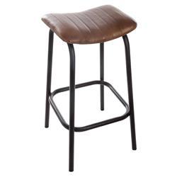 Skórzany stołek barowy Chic