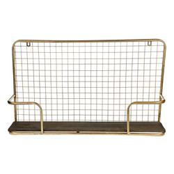 Półka metalowa Vintage 67x38 cm