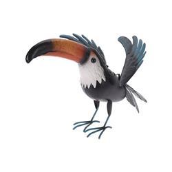 Dekoracyjny ptak Tukan do ogrodu 33 cm