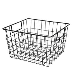 Koszyk druciak metalowy czarny loft