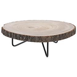 Podstawka drewniana na 3 nogach 40 cm