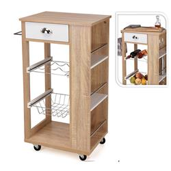 Wózek barek kuchenno-tarasowy na kółkach