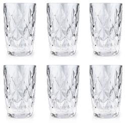 Komplet 6 przezroczystych szklanek 300ml