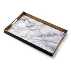 Taca dekoracyjna Blanche White Marble