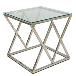 Stolik kawowy Timantti Silver 55 cm
