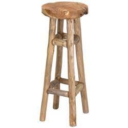 Stołek barowy hoker drewniany