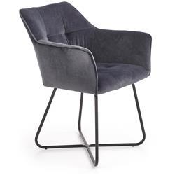 Krzesło K377 popielate