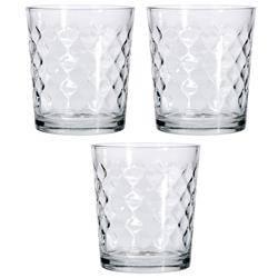 Komplet szklanek 3 szt / 360ml wzór 1